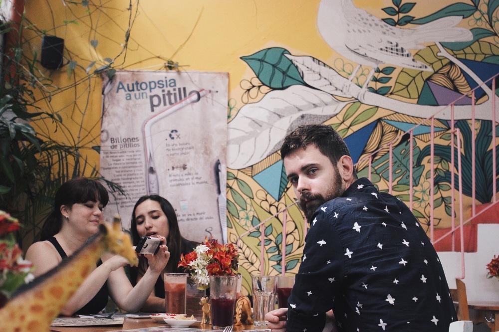 Andrea, Isa e Eduardo