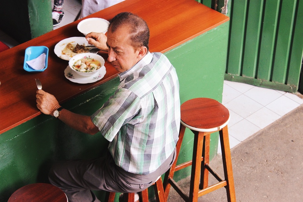 Desayuno en la Plaza de Mercado